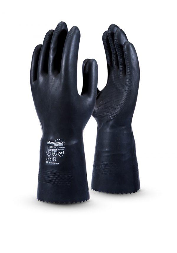 Перчатки кислотощелочестойкие КЩС Тип 2